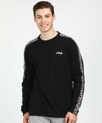 FILA   Black T-Shirts