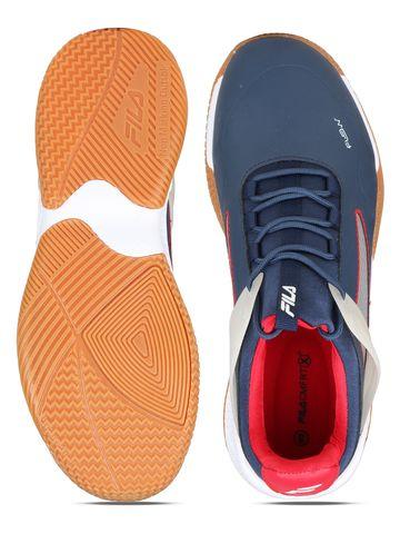 FILA   Blue Indoor Sports Shoes
