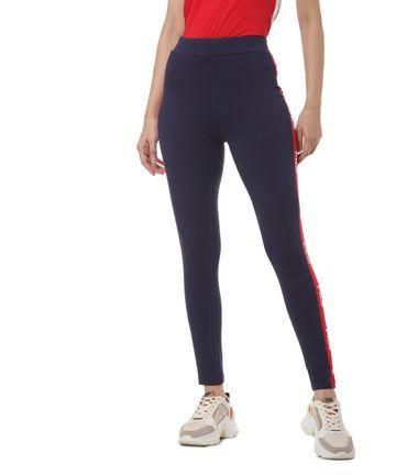 FILA   Blue Activewear Leggings