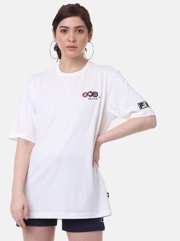 FILA   White T-Shirts