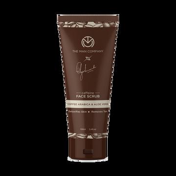 The Man Company | The Man Company Caffeine Face Scrub by Ayushmann Khurrana with Coffee Arabica and Aloe Vera Scrub