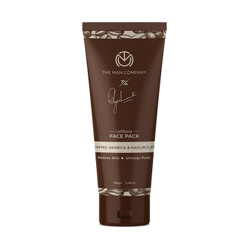 The Man Company | The Man Company Caffeine Face Pack by Ayushmann Khurrana with Coffee Arabica and Kaolin Clay