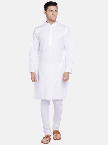 Ethnicity | Ethnicity White Cotton Men Kurta