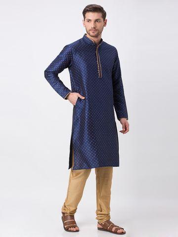 Ethnicity | Ethnicity Navy Polyester Blend Kp Set