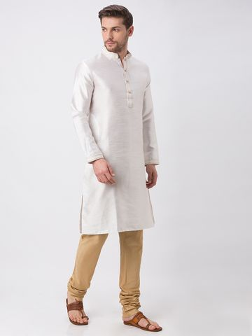 Ethnicity | Ethnicity White Polyester Blend Kp Set