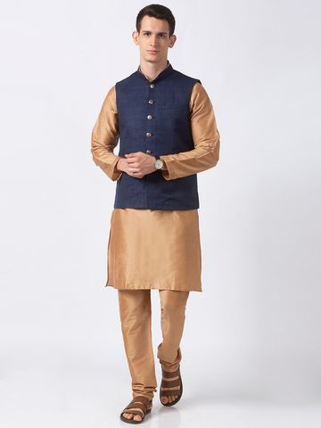 Ethnicity | Ethnicity Polyester Blend Navy Jackets