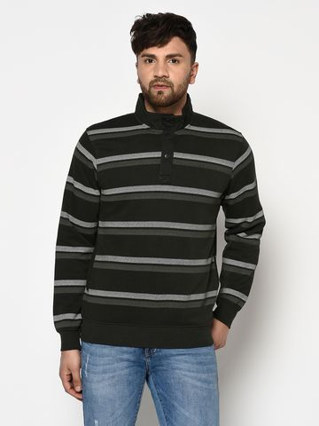 OCTAVE | Men'S DARK OLIVE Sweatshirts