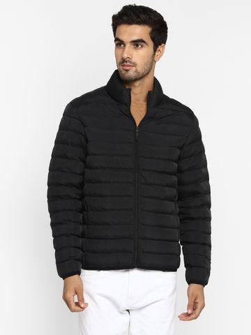 METTLE | MEN'S BLACK Front Open Jackets