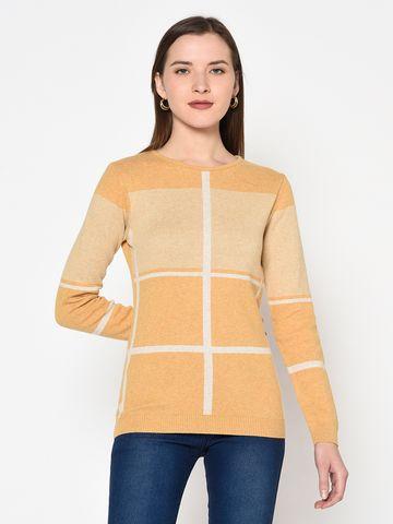 METTLE | WOMEN's MUSTARD Sweaters