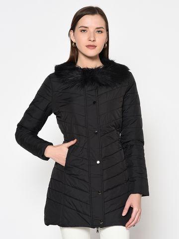 METTLE | Women BLACK Front Open Jackets