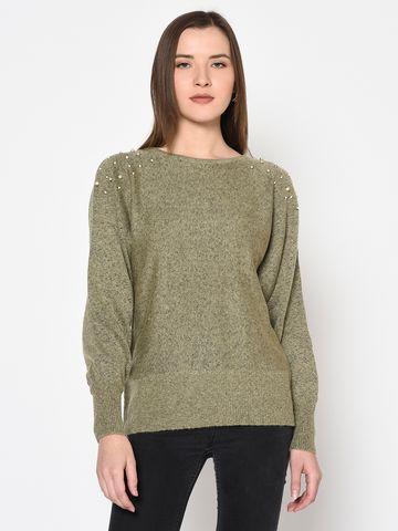 METTLE | WOMEN'S BEIGE Sweaters