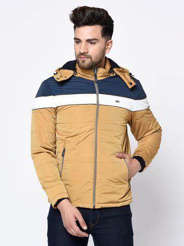 METTLE | Men's MUSTARD Front Open Jackets