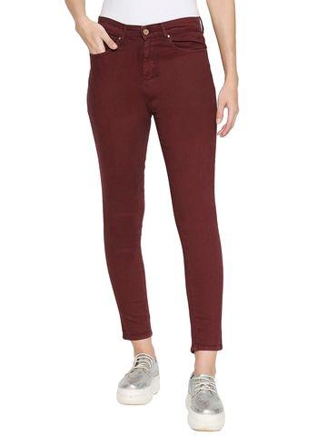 spykar | Spykar Cotton Red Jeans