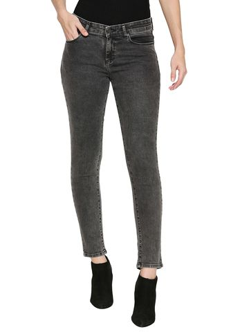spykar | Spykar Grey Cotton Jeans