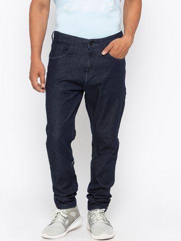 spykar | Spykar Raw Blue Solid Slim Fit Jeans