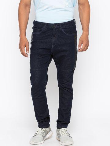 spykar | Spykar Raw Blue Solid Skinny Fit Jeans
