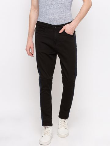 Spykar   Spykar Black Solid GYMJNS Fit Jeans