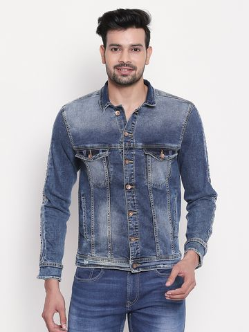 spykar | Mid Blue Faded Denim Jacket