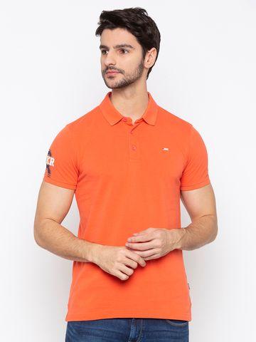 Spykar | spykar Coral Cotton Slim Fit T-Shirt