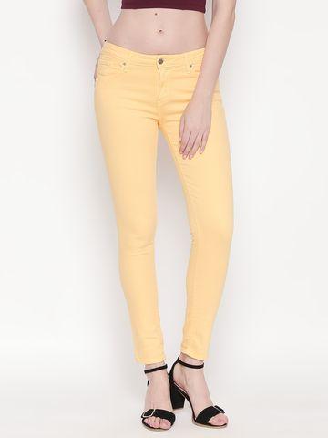 Spykar | Spykar Mango Solid Super Skinny Ankle Length Fit Jeans