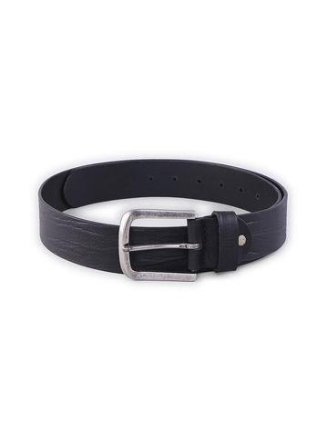spykar | SPYKAR Black Genuine Leather BELT
