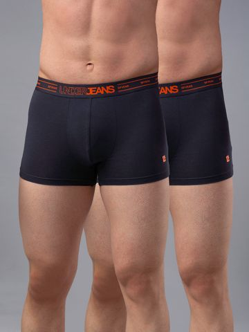 spykar | UNDERJEANS GREY COTTON TRUNK - Pack of 2