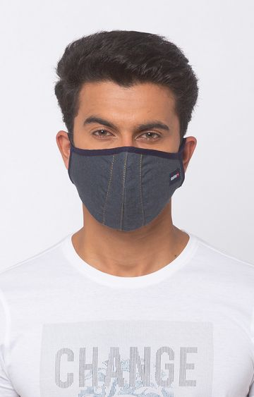 spykar | Spykar Denim Face Mask