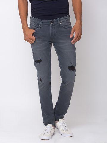Spykar | spykar Cotton Grey Jeans
