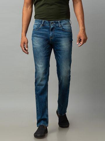 spykar | Spykar Blue Cotton Comfort Fit Jeans (Ricardo)
