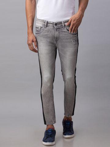 Spykar   Spykar Grey Cotton Men Jeans (KANO)