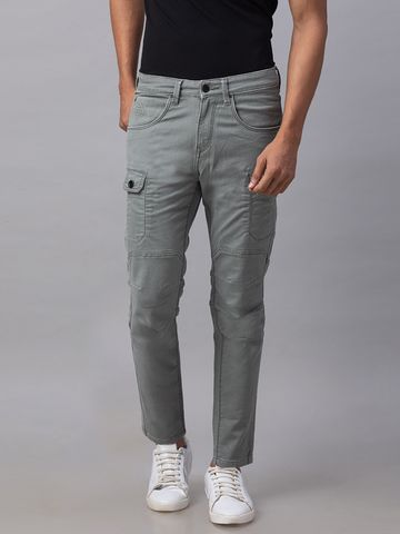 Spykar | Spykar Green Cotton Slim Fit Jeans (Slim)