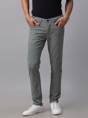 Spykar | Spykar Green Cotton Skinny Fit Jeans (Skinny)