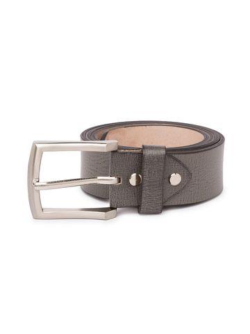 Spykar | Spykar Grey Leather Belts
