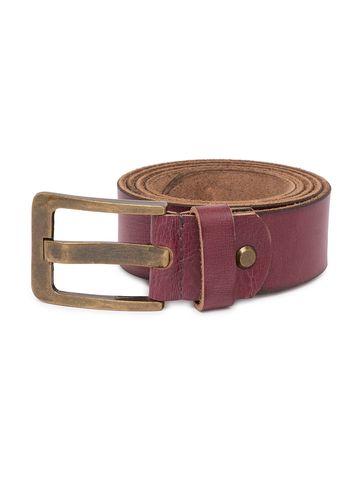spykar   Spykar Wine Leather Belts