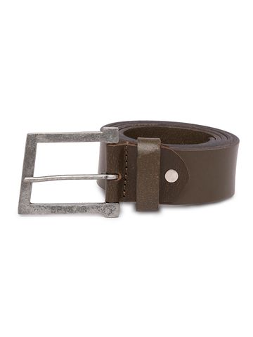 spykar | Spykar Olive Leather Belts
