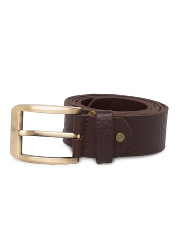 spykar | Spykar Brown Leather Belts