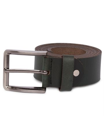 spykar | Spykar Green Leather Belts
