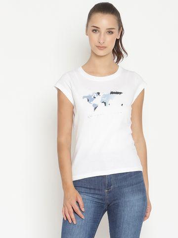 METTLE | Women WHITE T-Shirts