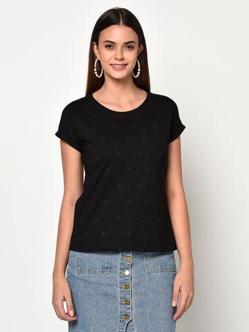 METTLE | Women BLACK T-Shirts