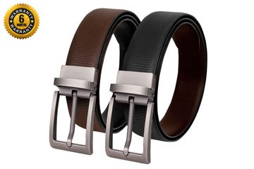 SCHARF | Black & Brown Reversible Belt
