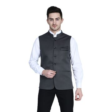 TAHVO | TAHVO nehru Jacket with hanky