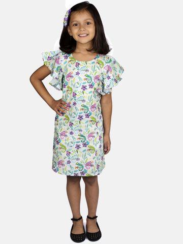 Ribbon Candy | RIBBON CANDY Girl's ChameleonPrint A-Line Dress