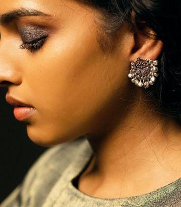 ZARIIN | Forest Native Stud Earrings