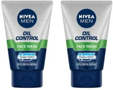 Nivea | NIVEA Oil Control 10X Whitening Effect Face Wash  (Pack Of 2)