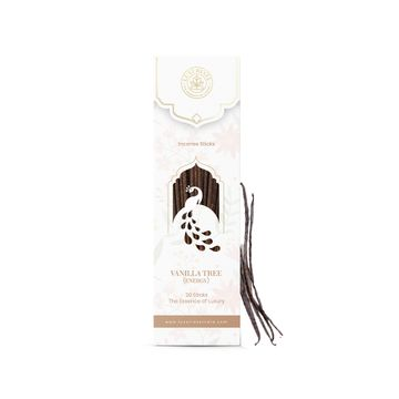 LUXURIATE | LUXURIATE Vanilla Fragrance Natural and Non-Toxic Incense Sticks-Great for Yoga, Meditation, Prayer, Home Fragrance, and as Air Purifier,(Contains 20 Incense Sticks/Natural Agarbatti)