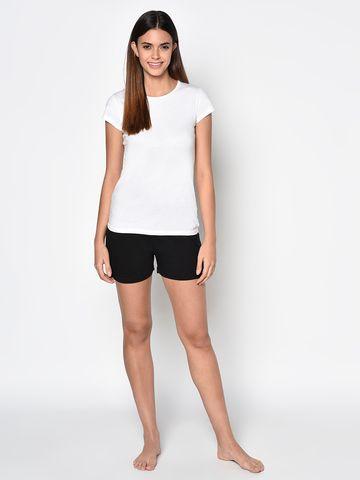 METTLE   Women BLACK Shorts