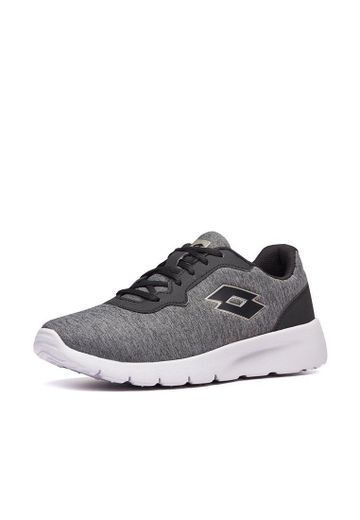 Lotto | LOTTO WOMEN'S MEGALIGHT IV MLG W RUNNING SHOES COOL GRAY 11C_ALL BLACK