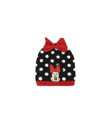 Mothercare | Kidsville Girls Beanie Minnie mouse-Black