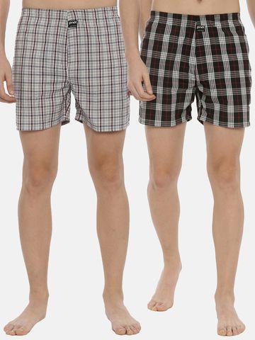 PIVOT | Pivot Men Casual Multi Colour Cotton Boxers