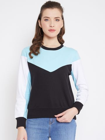 Jhankhi | Women's sweatshirt regular fit round neck full sleeves